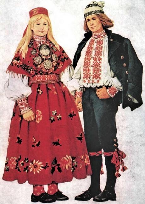 Русская национальная одежда фото женская